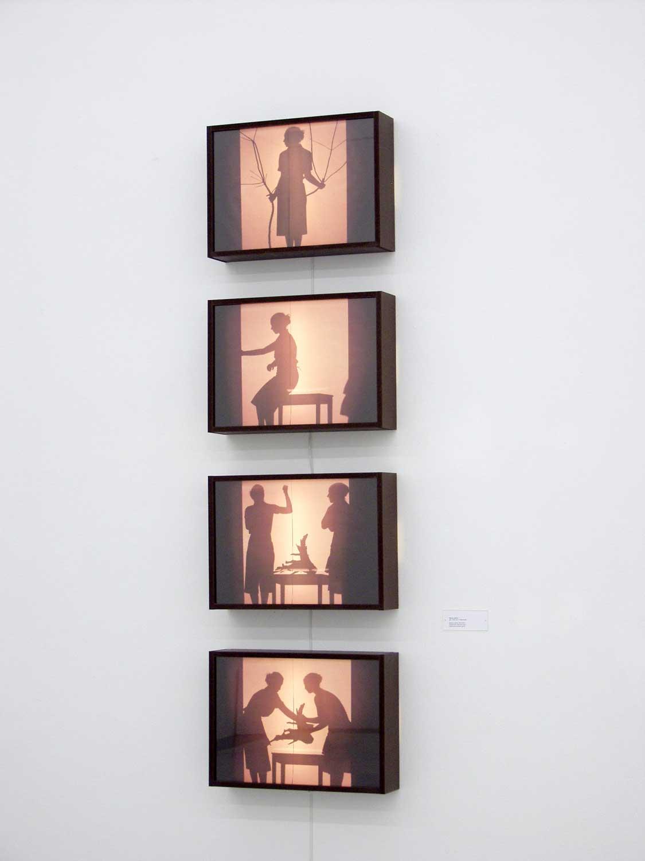 Ausstellungsansicht Staatliches Museum Schwerin, 2004, Foto: Broecker