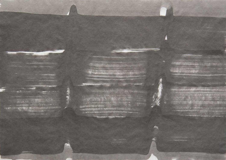 L1 Tusche auf Japanpapier 25,2 x 35,7 cm 2014