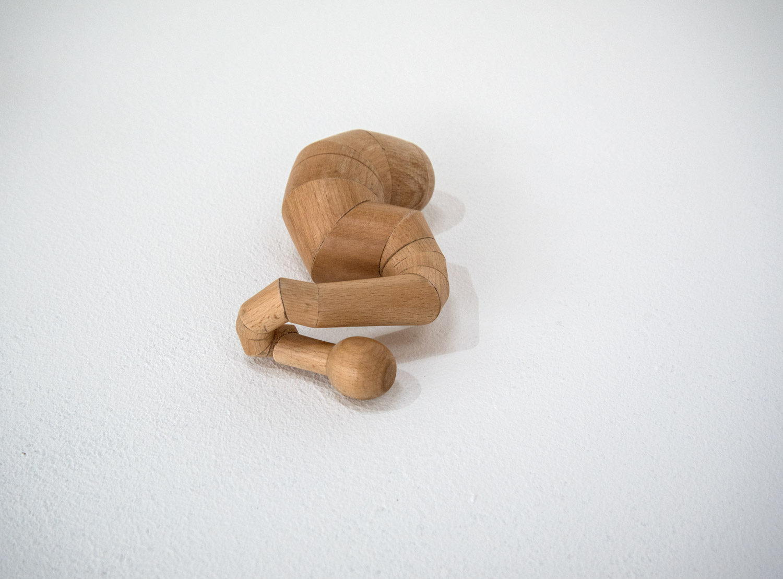 K.O._2 2016 Holz, ca. 20 x 17 cm